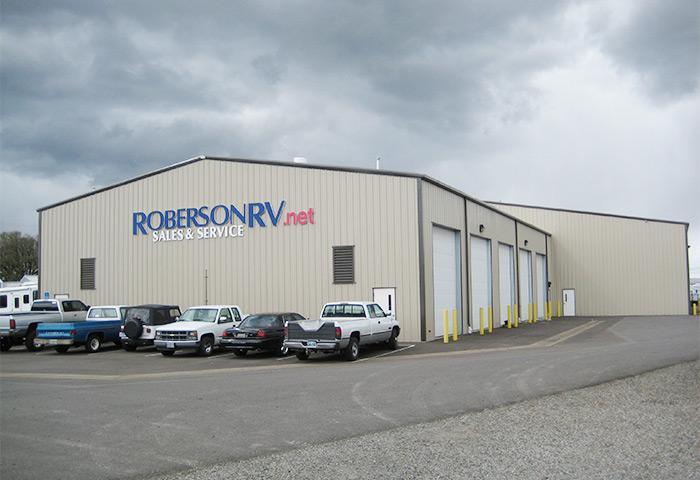 Roberson RV warehouse