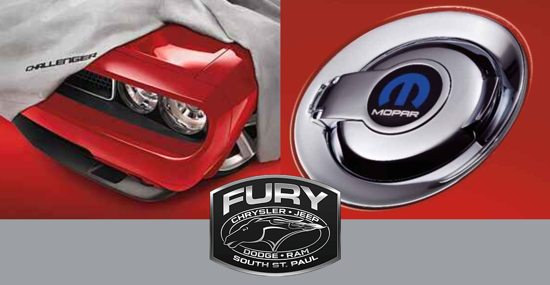 Order Mopar Accessories in St. Paul, MN available in Saint Paul, MN at Fury Motors St. Paul