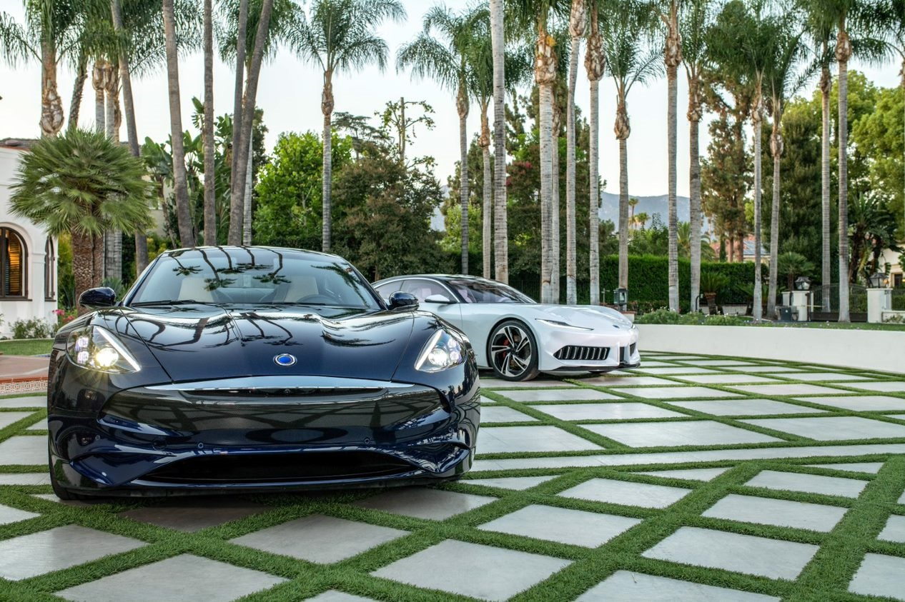 Luxury Electric Vehicle available in Newport Beach, CA at Karma Newport Beach