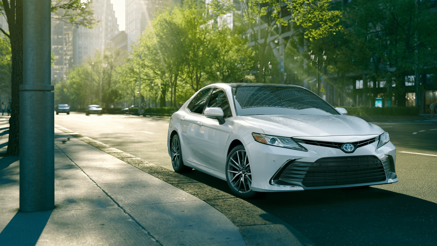 2021 Toyota Camry Hybrid available near Chesterton, IN at Bosak Toyota