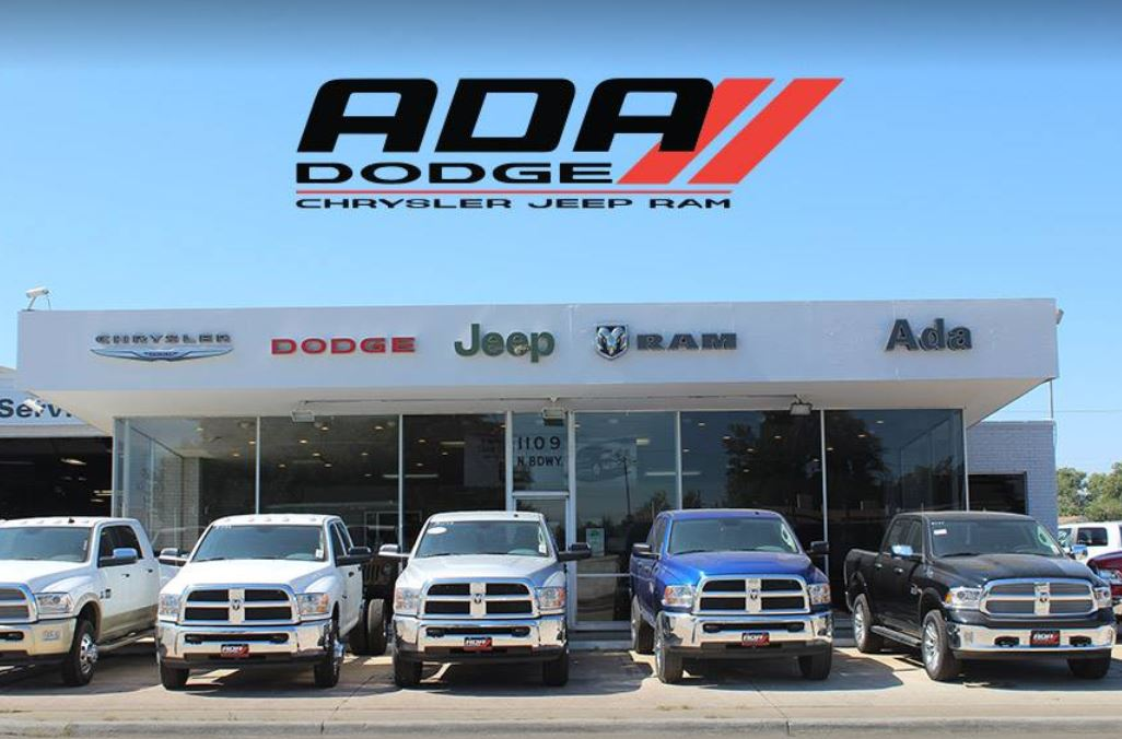 available in Ada, OK at Ada Chrysler Jeep Dodge Ram