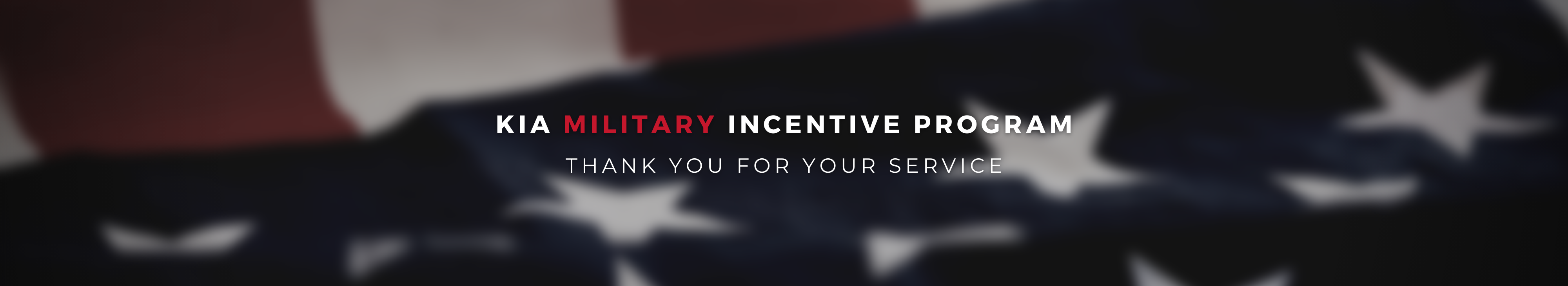 Kia Military Rebate Program