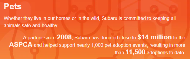 Subaru Loves Pets in Cortlandt Manor, NY