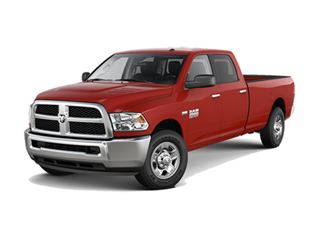 Ram 2500 white background