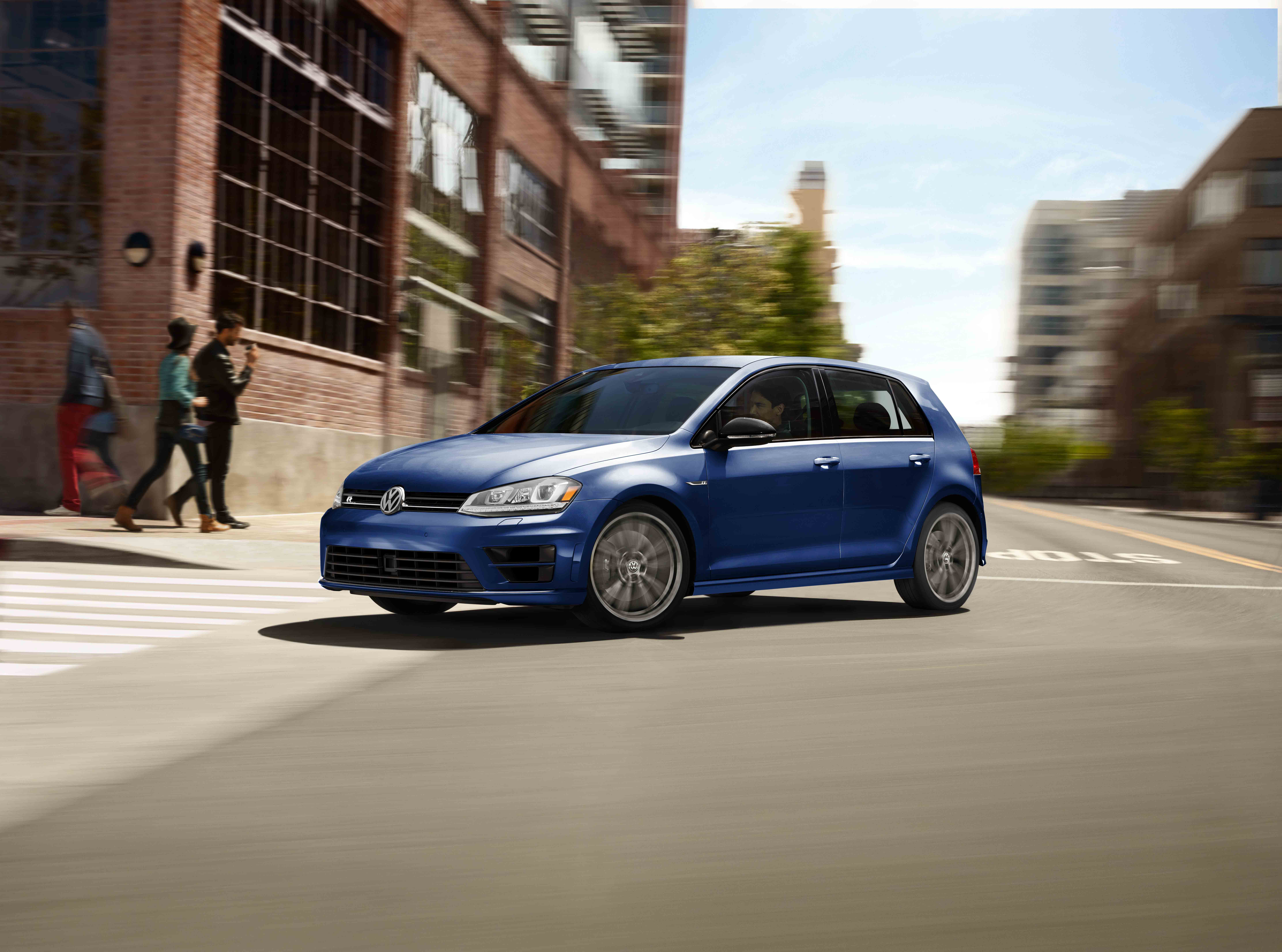 Abundant in power and performance the volkswagen golf r is a wild one this high performance version of the golf gti truly astounds with its 2 0 liter