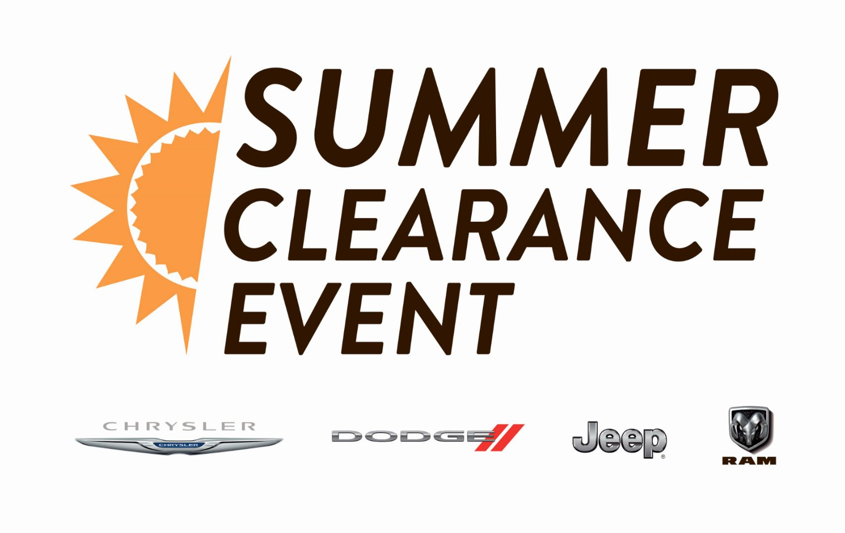 Summer Clearance Event in Albany, NY
